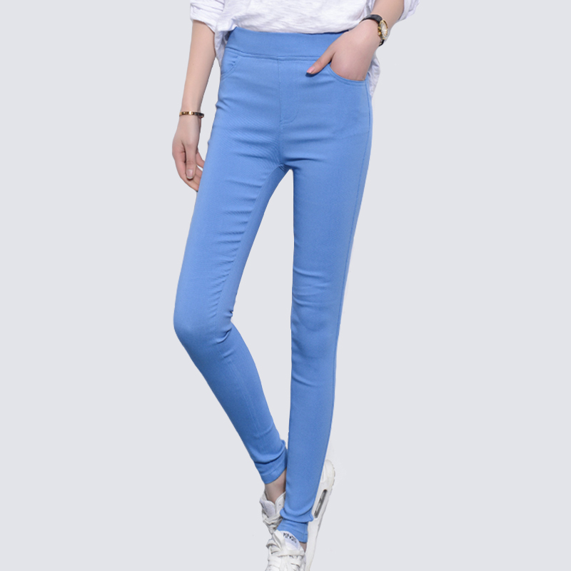 Jeans Female Denim Pants Candy Color Womens Jeans Donna Stretch Bottoms Feminino Skinny Pants For Women Trousers 2019