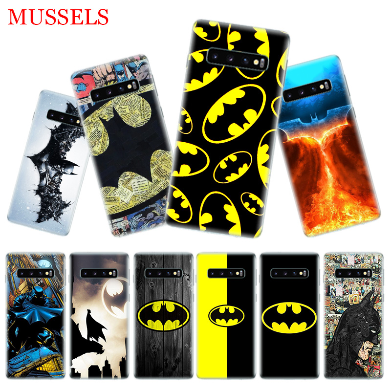 Batman Superhero Phone Cases For Samsung Galaxy S9 S8 A6 A8 J4 J6 Plus A7 A9 J8 2018 Note 9 8 S7 S6 Edge Cover in Half wrapped Cases from Cellphones Telecommunications