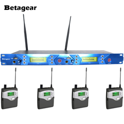 Betagear BT5102 stage ear monitors sound monitor USB twin transmitter 4 receiver stage monitor in ear IEM digital audio system