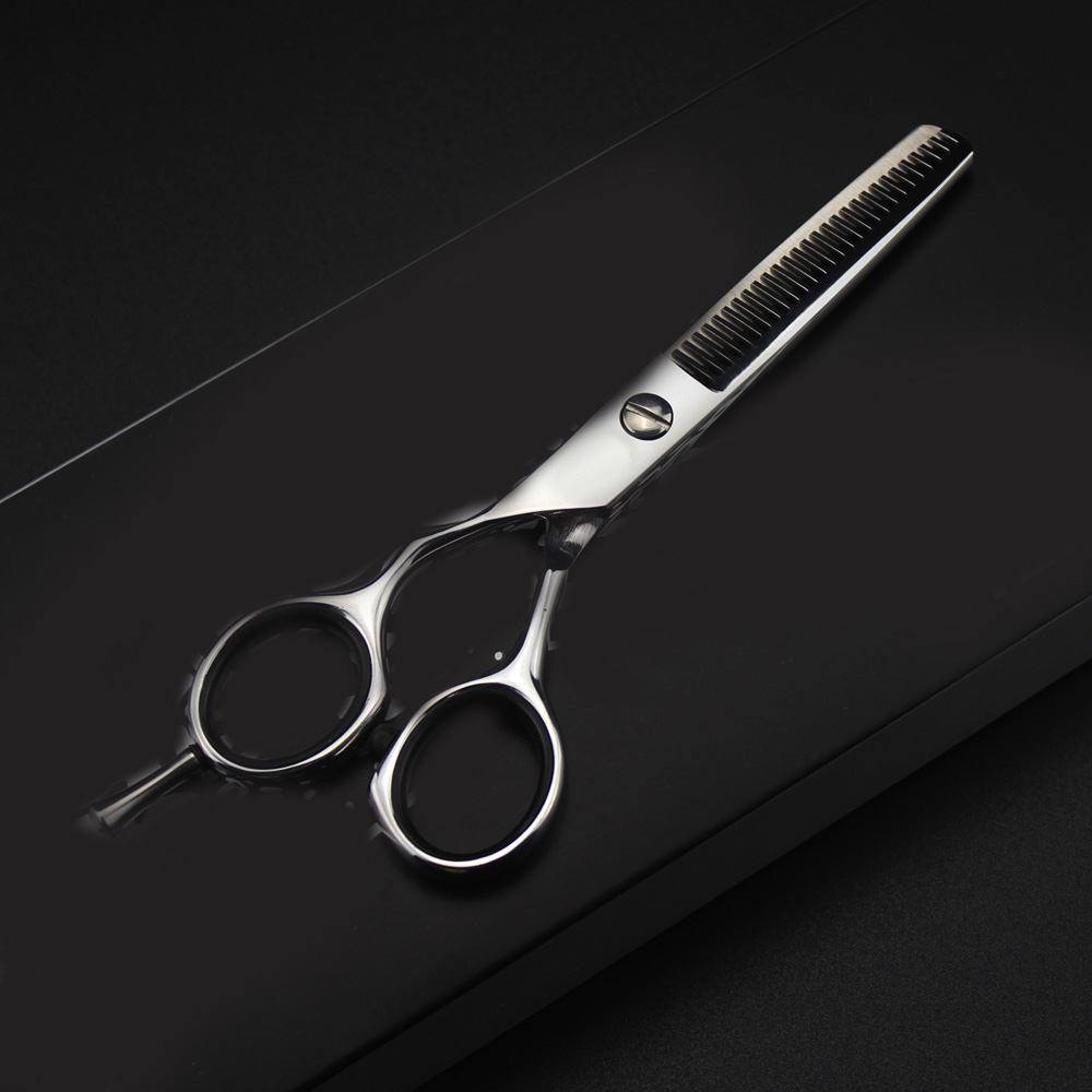 """Image 3 - 6"""" 5.5"""" brand left handed Scissor Cutting Thinning Scissor Dog Cat Hair Cutting Hairdressing Style Professional Pet Groomer ToolHair Scissors   -"""