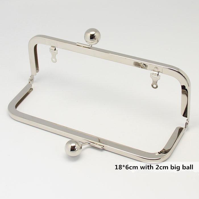 18X6 cm Metallgeldbeutel rahmen griff Handtasche Zubehör Handtasche ...