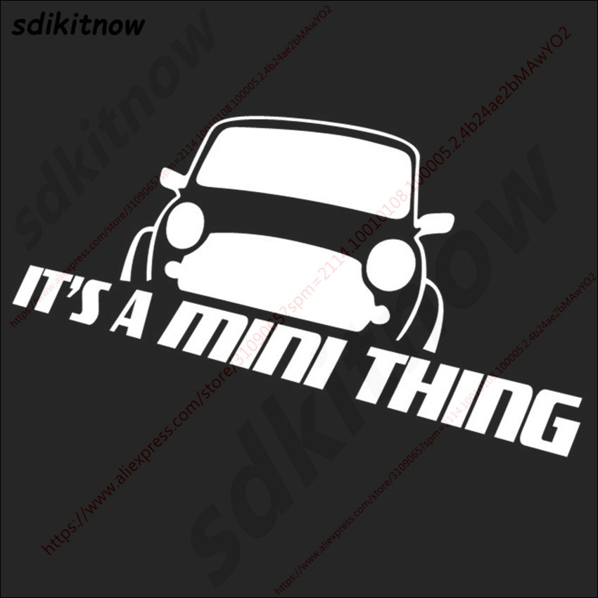 20x8 см это мини вещь Наклейка стиль окна двери украшения тела для BMW mini Cooper R50 R52 R53 R56 R57 R58 R60 - Название цвета: White