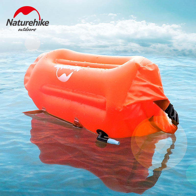 Naturehike Factory store Safety Swimming Security Inflatable air float Airbag For Water Sea Snorkeling Pool Swim Handset bag