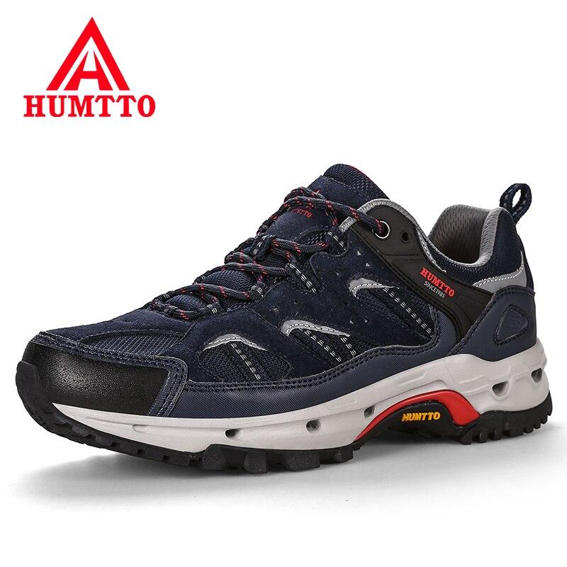 2018 Rembourrage En Cuir Véritable Chaussures de Course Hiver Respirant Homme Sneakers Profession Dentelle-up Sport En Plein Air Jogging Hommes Chaussures