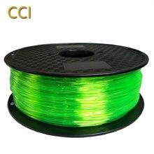 TPU 3d printer filament flexible 1 75mm 1kg printing material different soft TPU 72D 85A 98A