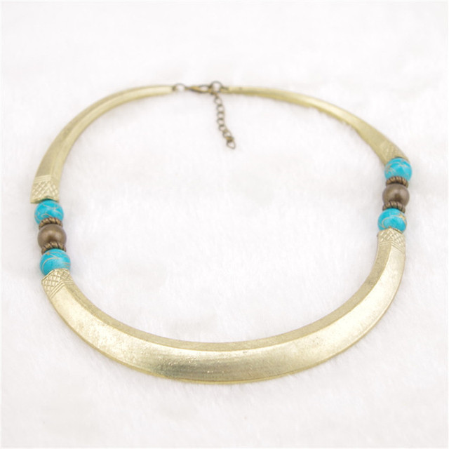 Egyptian Wild Style Turquoise Necklace