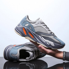 VSIOVRY 2019 New Chunky Sneakers Men Breathable Comfortable Walking Sneakers Mesh Men Shoes Fashion Casual Shoes Light krasovki