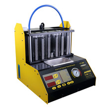 New Arrival C2100 injector cleaner and tester 220V/110V with English panel Better than CNC-602A CNC602A CT100 Free shipping ancel aic601 universal car ultrasonic fuel injector cleaner tester with panel for 6 cylinders injector washing tool as cnc 602a