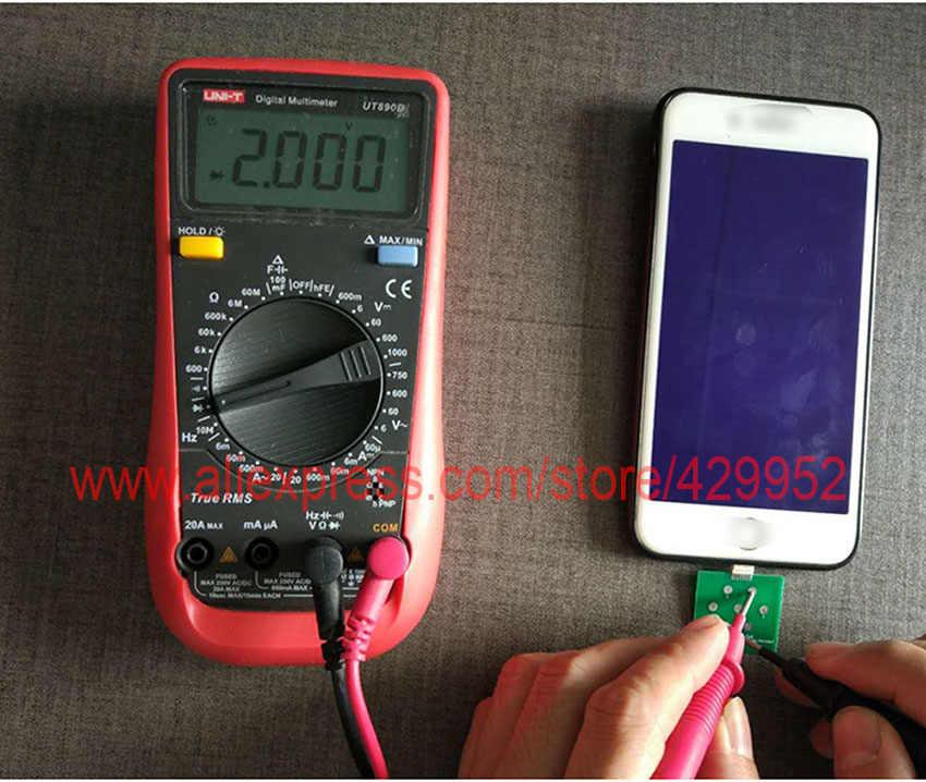 Dock Sạc Flex Bút Thử Sửa Chữa Micro USB PCB Thử Nghiệm Cho Iphone Android Pin Sửa Dụng Cụ