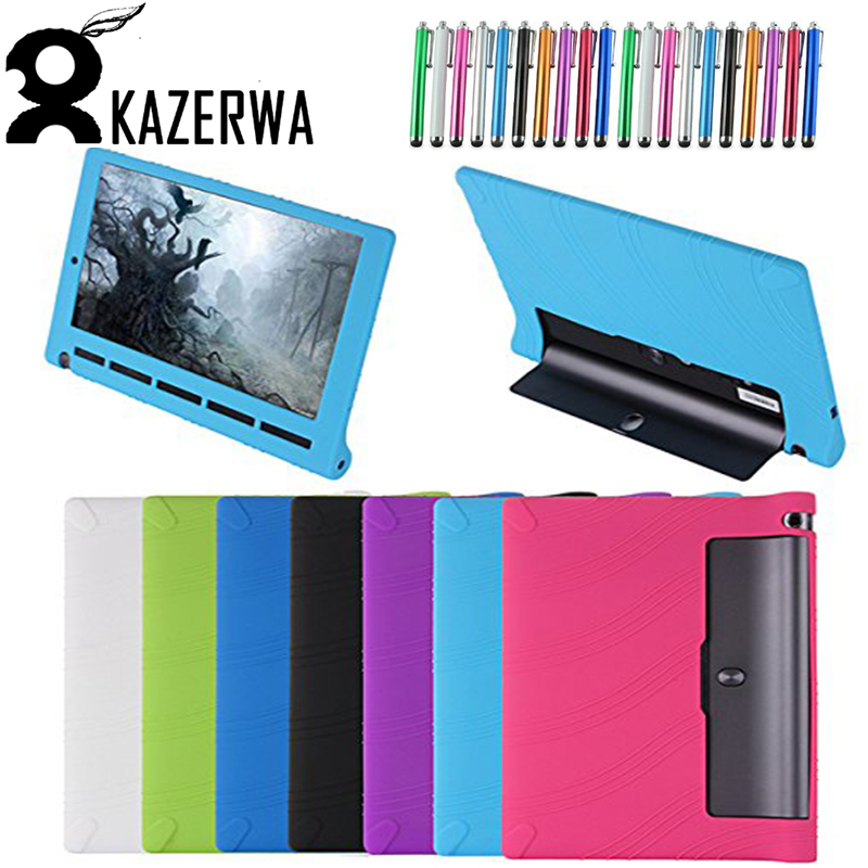 Silicon Case for Lenovo YOGA Tab 3 10.1 YT3-X50M YT3-X50F Shockproof Tablet Case Cover for Lenovo YOGA Tab 3 YT3-X50M X50f Funda yoga tab 3 10 x50l x50m case soft silicone case cover for lenovo yoga tab 3 10 x50 yt3 x50l x50m 10 0 inch tablet stylus