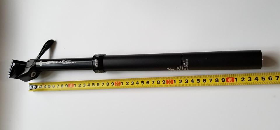 KS ExaForm Speed Up Hydro Dropper Seatpost 31.6mm Black 150mm