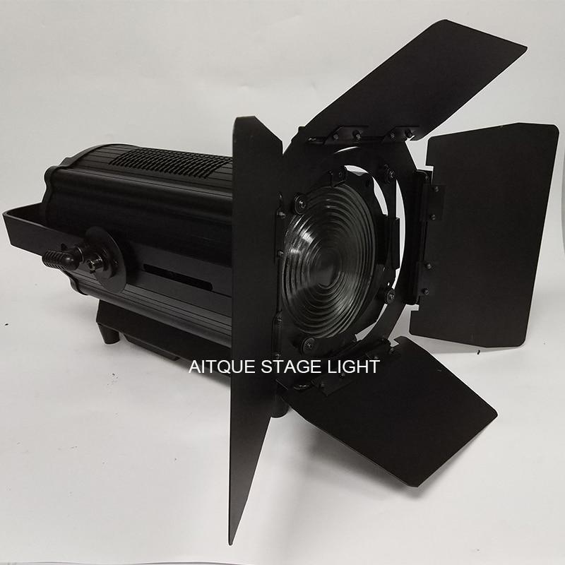 2lot Theater zoom light 200w 300W fresnel video studio theater led spot dmx light 200w led ellipsoidal light цены