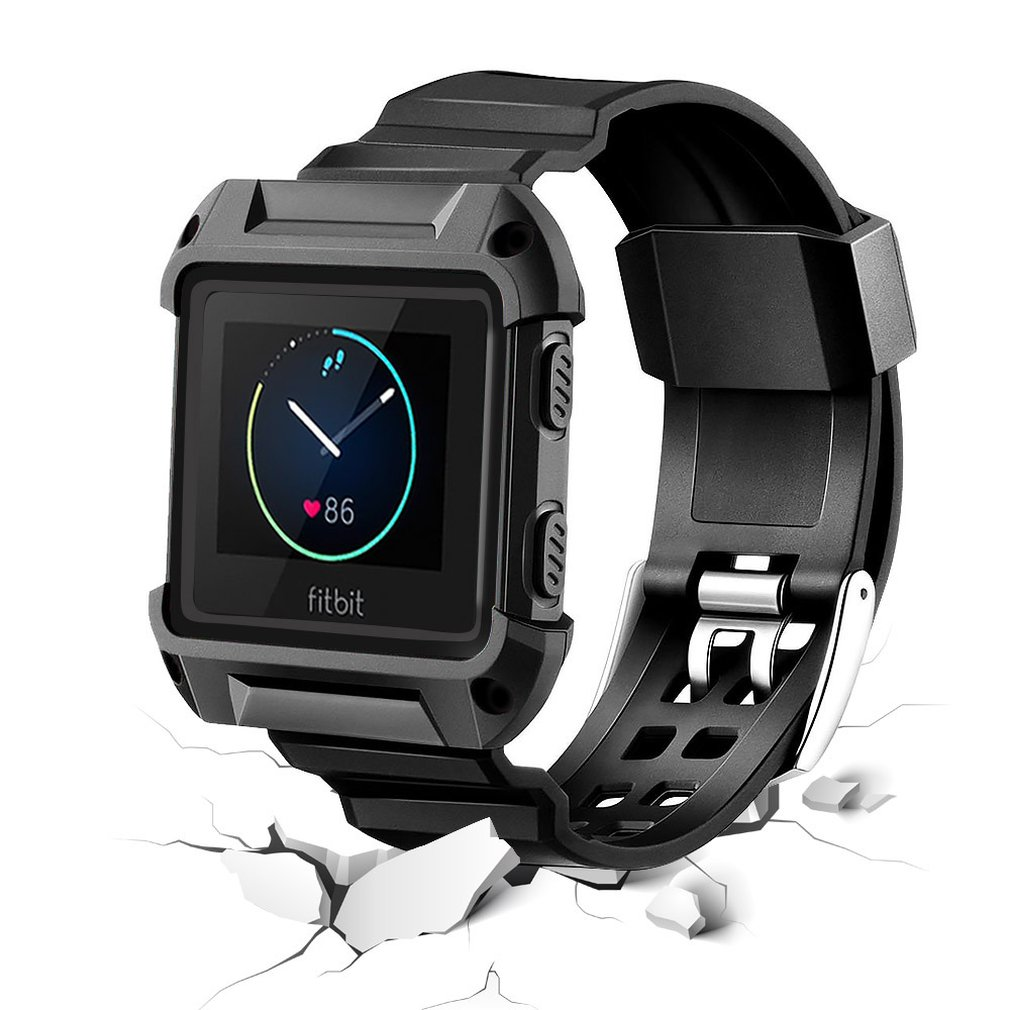 Smart Watch Replacement Strap Large Wristband Watch Band Strap+Frame For Fitbit Blaze  HOT SALE