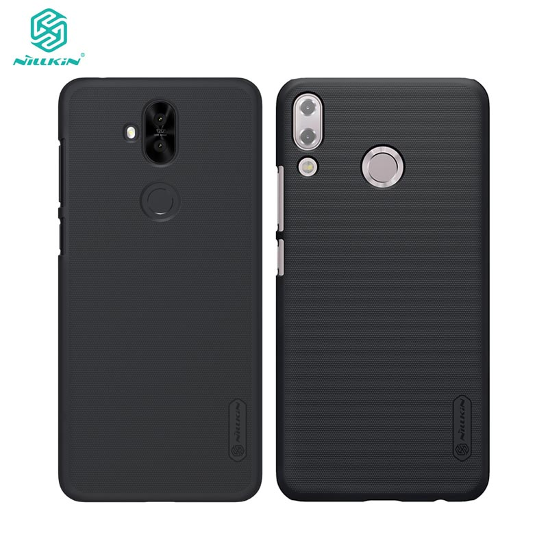 free shipping 98b99 422e8 US $9.99 |sFor Asus Zenfone 5 Lite Case Zenfone 5 2018 ZE620KL Cover  Nillkin Frosted Shield Case for Zenfone 5 Lite 5Q ZC600KL-in Fitted Cases  from ...