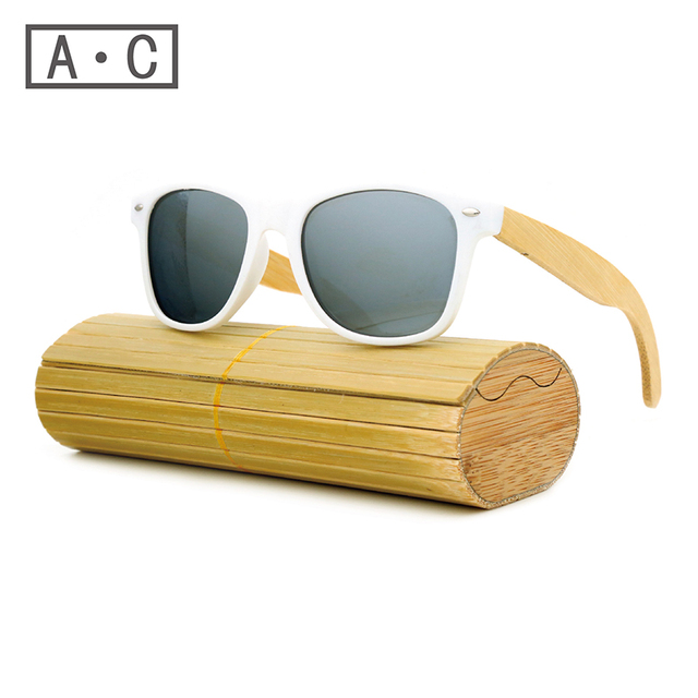 Ms packages mailed 2016 bamboo, wood fashion retro polarizing sunglasses by hand