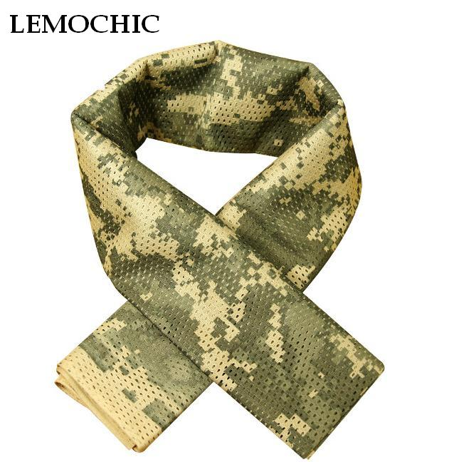 outdoor camping equipment paintball mask mascara reti mimetiche militari tactical ao ar livre high quality camouflage net scarf