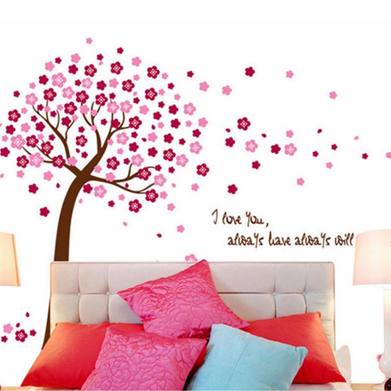 beautiful design beautiful giant pink cherry blossom flowers tree