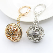 Ball Bell HOT Ring Key Chain Key Charm Bag keychain & Bag Alloy Car Pendant NEW(China)