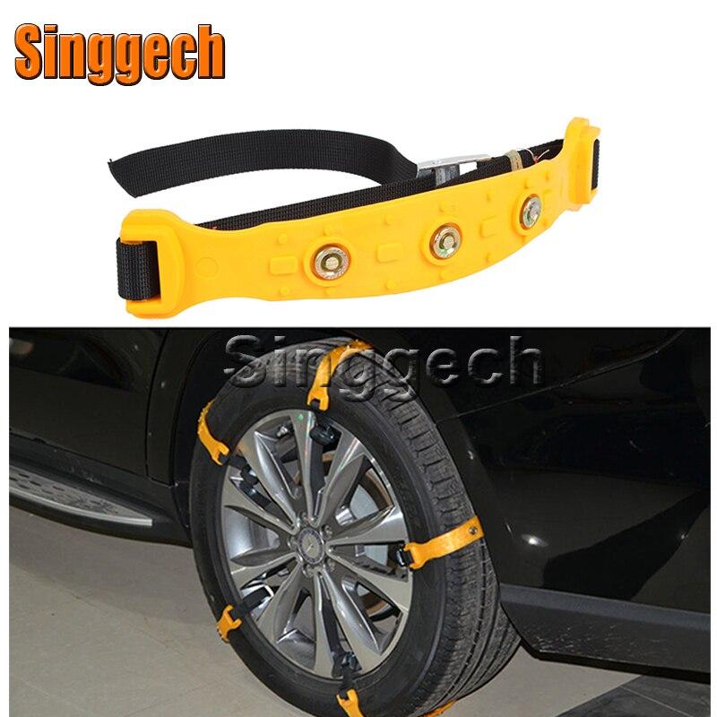 10X voiture roue neige chaînes pour Chevrolet Cruze Aveo Captiva Lacetti TRAX Sail Epica pour Saab 9-3 9-5 93 pour MG 3 ZR accessoires