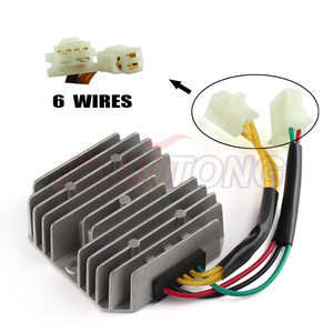 Image 1 - New GY6 50 150cc 152QMI 157QMJ Scooter Voltage Regulator Rectifier 6 Wires Chinese Moped SUNL JCL Dirt Bike CH125