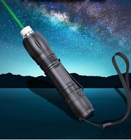 532nm 200mW Green Laser Pointer Pen Stars High Power Laser Pen Flashlight