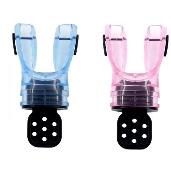 2Pc Silicone Scuba Diving Dive Snorkel Comfort Standard Mouthpiece Regulator