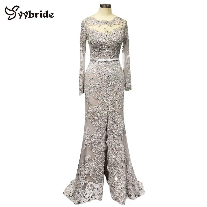 Nuevo diseño Vestidos de baile Vestido de noche con cuentas de - Vestidos para ocasiones especiales