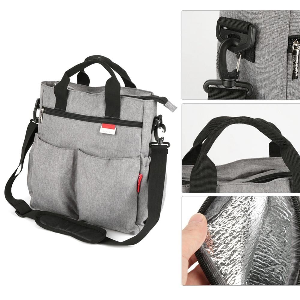 HTB18O7SGVGWBuNjy0Fbq6z4sXXaY Insular Mummy Diaper Bag Large Nursing Bag Travel Backpack Designer Stroller Baby Bag Baby Care Nappy Backpack bolsa maternidade