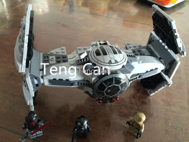 354 unids Bela 10373 Star Wars The Force Despierta EMPATE Avanzado Prototype Building Blocks Juguetes brinquedos Regalo minis leping