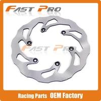 245MM Rear Wavy Brake Disc Rotor For WR125 YZ125 YZ250 WR250 YZ250F WR250F YZ 426F WR426F