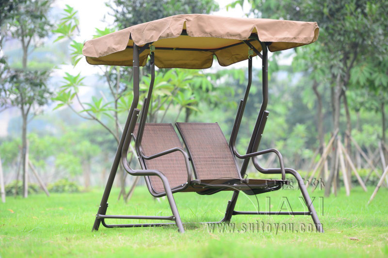 Love Seater Patio Garden Swing Chair Hammock Outdoor Sling Cover