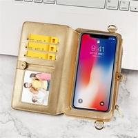 Musubo Fashion Girl Leather Case For iPhone X 7 Plus Luxury Women Wallet Phone Bag Fitted Cover for iPhone 8 Plus 6 6S Plus Hot