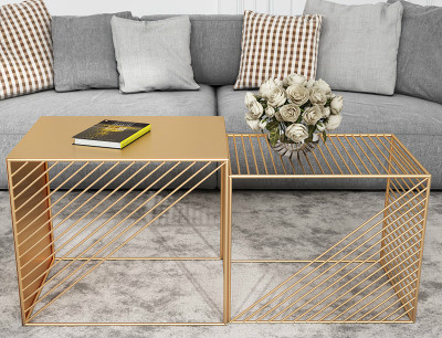 Admirable Us 75 0 Louis Fashion A Few Small Coffee Tables Beside The Sofa Simple Modern Living Room Square Iron Art Side In Coffee Tables From Furniture On Squirreltailoven Fun Painted Chair Ideas Images Squirreltailovenorg