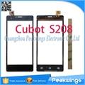 Touch panel digitalizador de pantalla táctil para cubot s208 con 3 m adhesivo