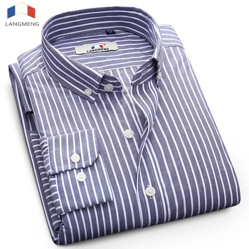 Striped 100% Cotton Causal Shirts