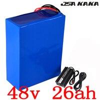 48V 1000W 2000W batterie 48V 25AH elektrische fahrrad batterie 48V 25AH roller Lithium-batterie pack batterie mit 50A BMS + 54 6 V ladegerät