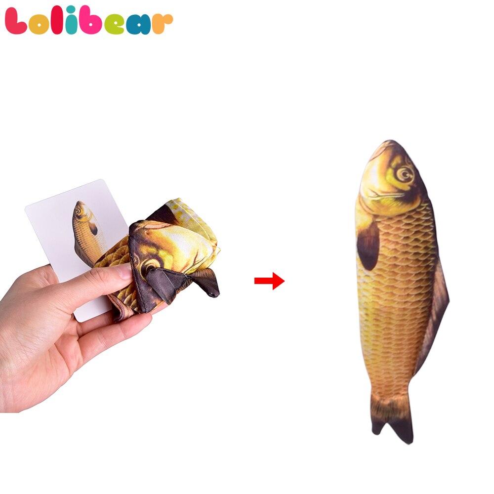 28cm Erscheinen Fisch Magie Tricks Bühne Magia Fisch Erscheinen Von Karte Fall Magie Mentalismus Illusion Gimmick Requisiten 2018 FISM