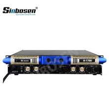 Усилитель 2 канала 3600 Вт стабильный 2 Ом мощность аудио Профессиональный Усилитель H-1700 стабильный 2 Ом