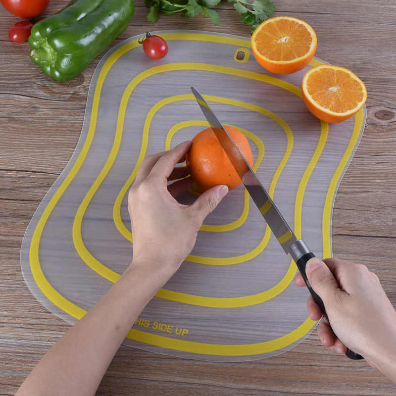 Manufacturer's direct selling PP cutting board environmental protection multi-functional cutting board thin slice anti-skid cutt