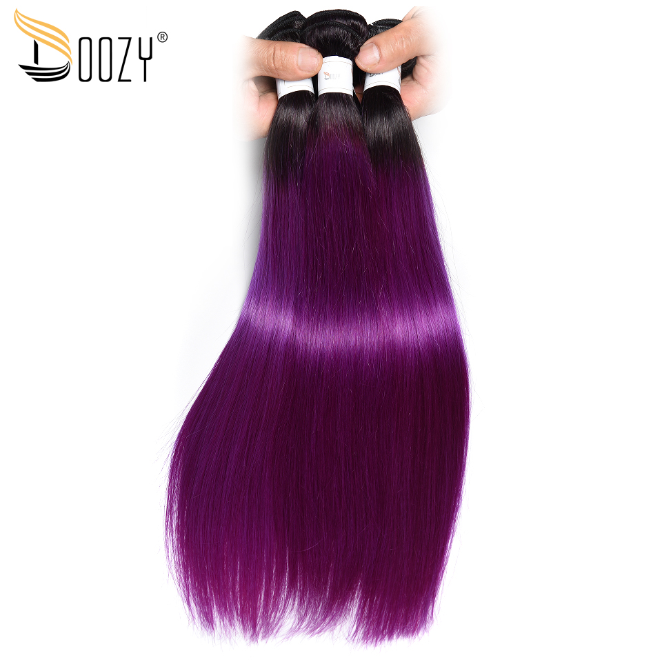 doozy 1b purple straight brazilian
