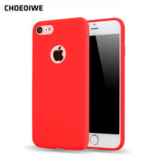 CHOEOIWE Cute Candy Mint Pink Color Case for iPhone 5 5s SE 6 6s 7 Plus 4f9570dcb79e2