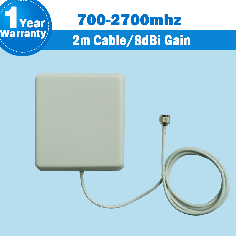 3G 700Mhz To 2700MHz 9dBi Gain GSM CDMA WCDMA UMTS Indoor Panel Antenna Internal Antenna For Mobile Phone Signal Booster S36