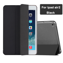 For Ipad air2 Case Sizzling Sale Magnetic Sensible Cowl with Comfortable TPU Shiny Again Case for ipad air2 for ipad6 9.7inch A1566 A1567