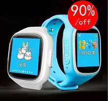 2016 smart baby watch GPS tracker for kids with Touch Screen Smartwatch Anti Lost With SOS baby gift pk Q80 Q60 Q50