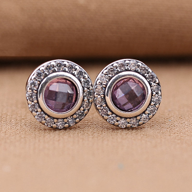24f8d8664 Sparkling Minnie Pink Brilliant Legacy Stud Earring 925 Sterling Silver  Earrings For Women Wedding Party Gift Pandora Jewelry-in Stud Earrings from  Jewelry ...