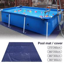 Hot Sale Large Size Swimming Pool Round Ground Cloth Lip Cover Dustproof Floor Cloth Mat Cover for Outdoor Villa Garden Pool цена в Москве и Питере