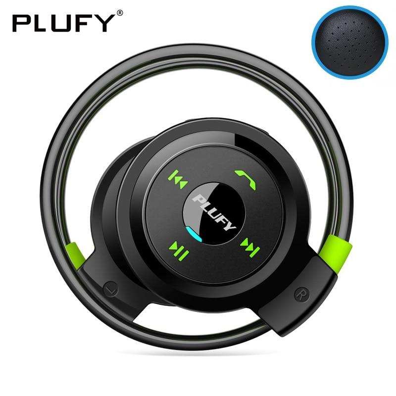 PLUFY Bluetooth banda para el cuello Auriculares Audifonos Sport Auriculares inalámbricos Auriculares Inalambrico Ecouteur auricular