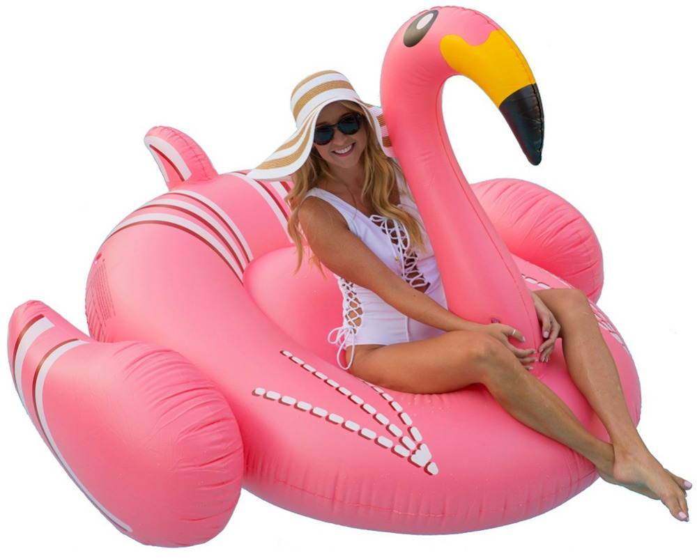 Summer Pool Float Inflatable Flamingo Swimming Float Swan for Adult Children Swimming Ring Summer Water Toy for Vaction Party giant whale swan inflatable ride on pool outdoor children toy float inflatable swan pool ring summer holiday water fun pool toys