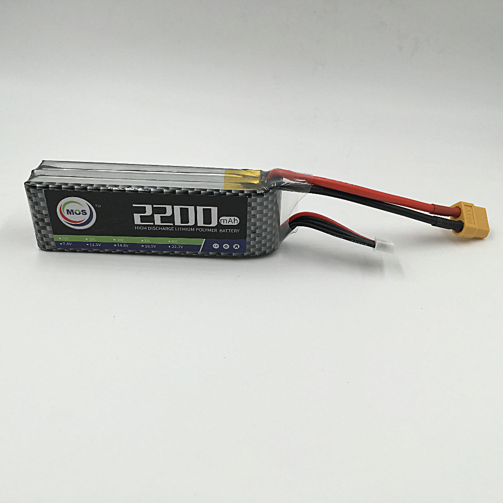 MOS RC quadcopter Lipo battery 3S 11.1v 2200mah 35C RC airplanelithium polymer battery 3S