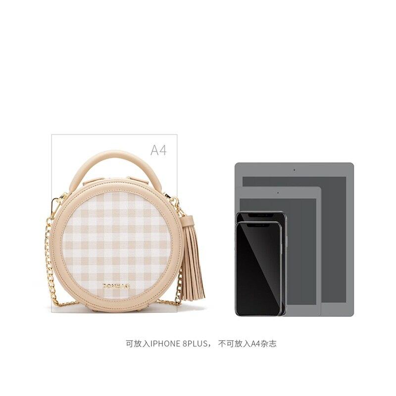 JONBAG frauen kleine tasche weibliche geschlungen nette 2019 neue stil modelle sommer sommer kette kleine runde tasche handtasche - 4